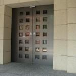 西新宿パークサイドタワー 門