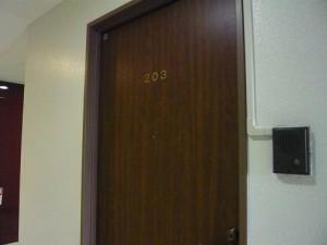 高輪ロイヤルマンション 玄関ドア