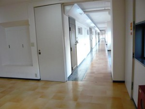 目黒セントラルマンション 共有廊下