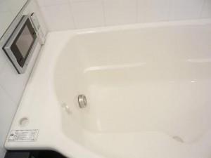 千駄ヶ谷セントラルハイツ 浴室TV