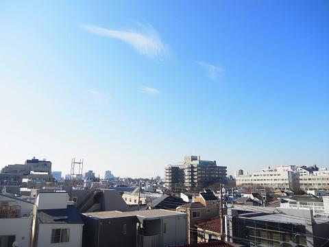 大井町ハイツ 眺望