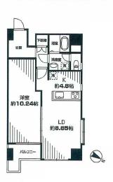 ハイマート渋谷神泉  間取り図