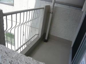 ハイマート渋谷神泉 バルコニー