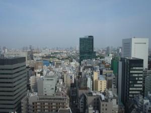 青山パークタワー 眺望