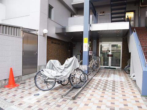 セブンスターマンション中目黒 エントランス