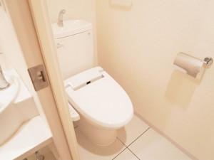 パークハイツ都立大  トイレ
