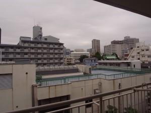 神楽坂ハウス バルコニーからの景色