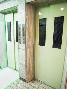 上馬マンション エレベーター