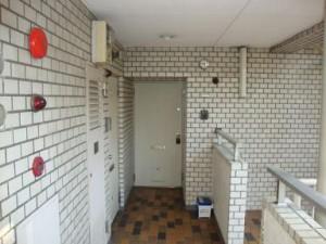 チュリス西麻布 玄関ドア