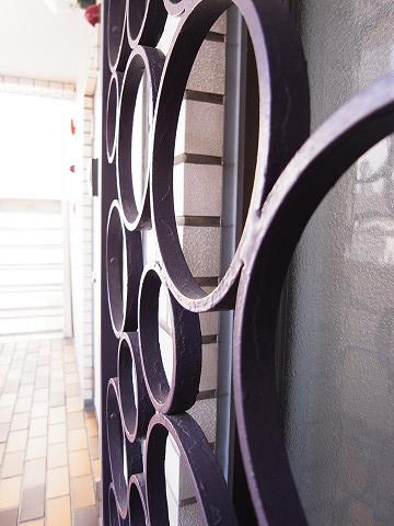 チュリス西麻布 窓枠