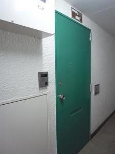 グリーンキャピタル神楽坂 玄関ドア