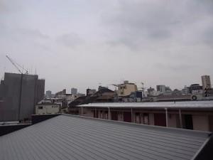 グリーンキャピタル神楽坂 バルコニーからの景色
