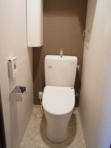 新池田山マンション トイレ