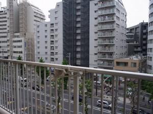 グリーンプラザ五反田第2 バルコニーからの眺望