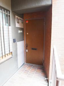 トーア余丁町マンション 玄関