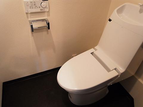 代官山マンション トイレ