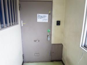 第三宮庭マンション 玄関