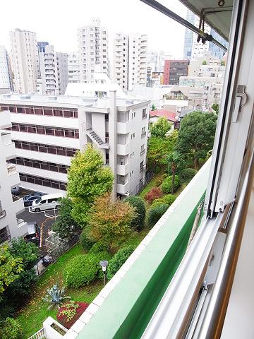 グリーンヒル新宿 窓