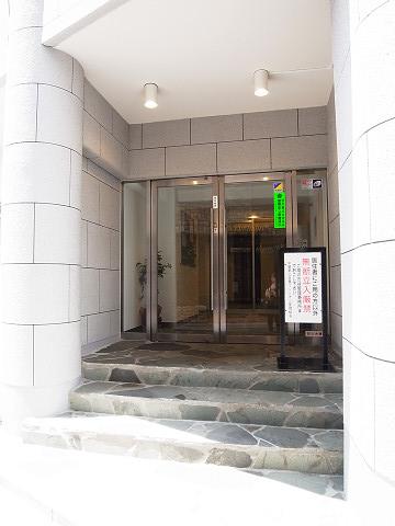 中銀第3目黒マンシオン エントランス