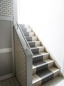 グリュック玉川Ⅲ 階段