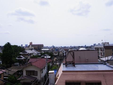 西新宿ビューハイツ  バルコニー眺望