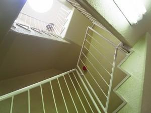 上用賀スカイマンション 階段