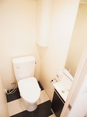 トーカン原宿キャステール トイレ