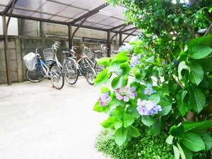 四谷坂町永谷マンション 駐輪場