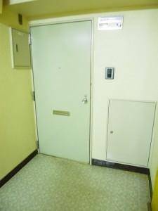 藤和八丁堀コープⅡ 玄関