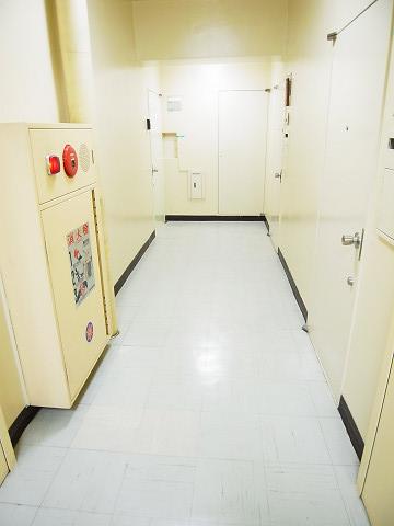 三田ハイツ 内廊下