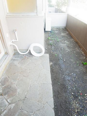 四谷軒第1経堂シティコーポ 庭