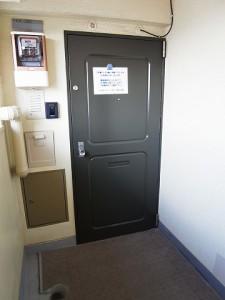 学芸大スカイスクレーパー 玄関