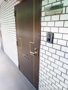 キャッスルマンション成城学園前 玄関