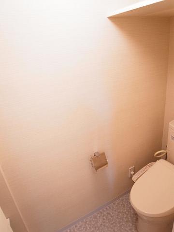 キャッスルマンション成城学園前 トイレ