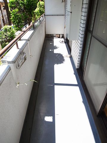 キャッスルマンション成城学園前 外廊下