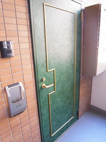 マイキャッスル二子玉川園 玄関