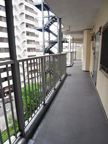 田町スカイハイツ 外廊下