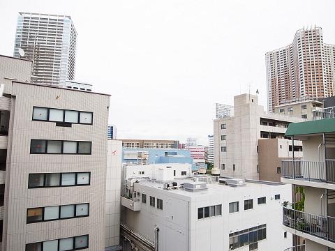 田町スカイハイツ 眺望