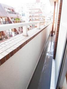 マンション新宿御苑  洋室1バルコニー