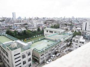 パレステュディオ渋谷本町  眺望