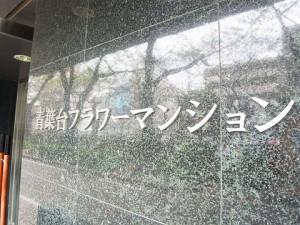 青葉台フラワーマンション エントランス