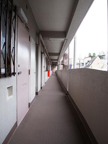 柿の木坂パレス 外廊下