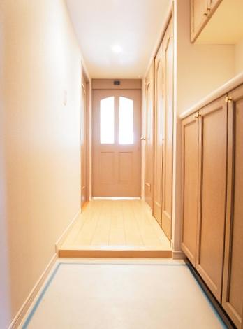 新宿御苑サニーコート 玄関