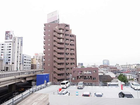 鶴ハイム笹塚 外廊下 眺望