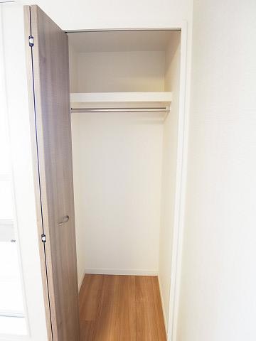 都立大コーポラス 洋室3 クローゼット