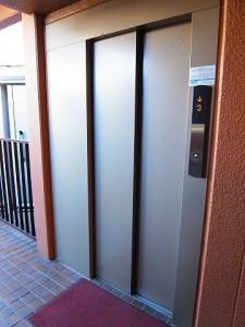 クレール上野毛 エレベーター