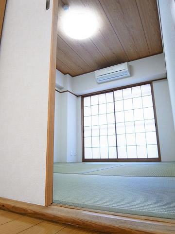 クレール上野毛 和室