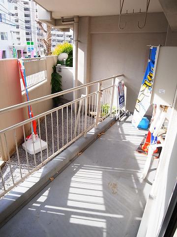 第5千歳船橋ヒミコマンション バルコニー