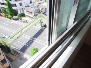 日商岩井第二自由が丘マンション 洋室1眺望