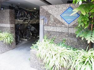 グリーンパーク日本橋Duex エントランス